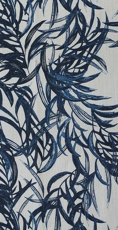 Willow Indigo textile