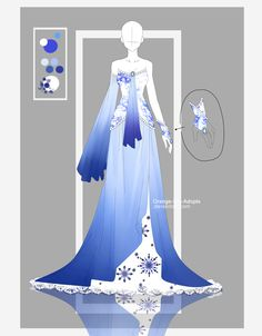 Auction - Frozen Lapis [CLOSED] by Orange-Lily-Adopts.deviantart.com on @DeviantArt