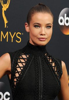 Stephanie Corneliussen attends the 68th Annual Primetime Emmy Awards at…