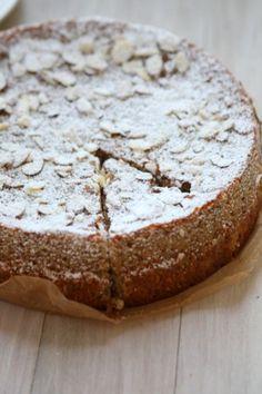 Lemon Ricotta Almond Meal Cake (gluten free)