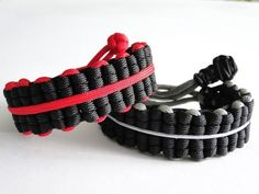 """How to Make a """"Thin Line"""" Truck Tires Paracord Survival Bracelet/Mad Max Style - YouTube"""