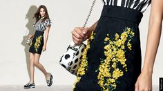Women's Day Looks and Gifts: Mimosa Inspirations from Dolce&Gabbana Spring Summer 2015
