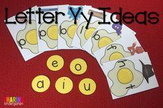 Letter Yy Ideas