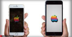 iPhone Wallpapers Apple logo #1