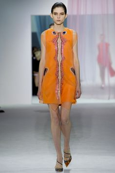 Christian Dior SS13 #PFW yall should see how these look when the model walks. its divine.