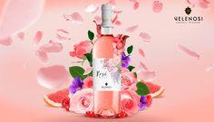 #Rosè Marche IGT Rosato Velenosi! Un vino intenso, gustoso e floreale che sin dal primo assaggio saprà stupire e conquistare i vostri sensi con spiccati sentori di rosa, viola, ribes, lampone e pompelmo rosa. #velenosivini #etichette #vino #new #label #wine
