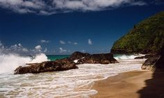 6 most dangerous beaches; 2 from pollution, 1 from nuclear tests and sharks, 1 jellies, 1 sharks and 1 strong rip tides