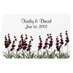 Wedding Red Flowers Flexible Magnets http://www.zazzle.com/wedding_red_flowers_flexible_magnets-160174875724824813?rf=238631258595245556