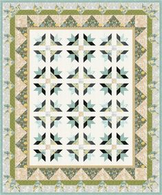 Grand Gardens designed by Robert Kaufman Fabrics. Features #grandmajolica, shipping to stores February 2016. Three color stories! FREE pattern will be available to download from robertkaufman.com in November 2015. #FREEatrobertkaufmandotcom