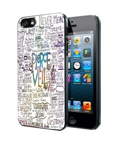 Pierce The Veil lyric Samsung Galaxy S3/ S4 case, iPhone 4/4S / 5/ 5s/ 5c case, iPod Touch 4 / 5 case