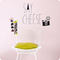 stickers say cheese Mimi Lou Diy Interior, Interior Design, Palette, Flat Ideas, Vintage Room, Home And Deco, Nordic Style, Kidsroom, Stores