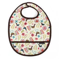 Fantastic Organic Cotton WATERPROOF Bib! I LOVE the fact that these bibs are organic AND waterproof! They're fab!!!