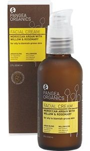 $38-2oz -- Moroccan Argan  Formulated for oily to blemish-prone skin, this facial cream provides weightless hydration plus sebum-control. It calms surface inflammation and regulates oily shine while offering a flawless foundation for makeup application. This formula replaces both Egyptian Fennel with Rosemary & Mint and French Chamomile & Orange Blossom.