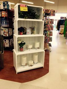 Come check out the spring collections in our Home Expressions section! Sale Store, Spring Is Coming, Spring Collection, Bookcase, Shelves, Collections, Check, Flowers, Home Decor