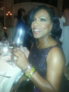 Actress Sheryl Lee Ralph wearing RLT Collection Bracelets and Marc Bowers Gown Oscar Night 2013!
