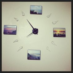 Our new DIY wall clock.