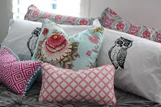 Cushions can always turn a house into a home!