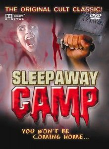 sleep away camp the movie the original cult classic, you won't be coming home, - we had a movie party at my friend's house and watched this. So bad. Classic Horror Movies, Horror Films, Scary Movies, Great Movies, Movie Party, I Movie, Sleepaway Camp, Are You Scared, Best Horrors
