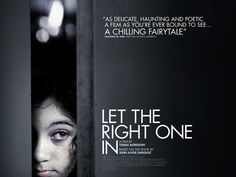 Unused Let The Right One In movie poster