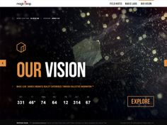 30 Websites That Use Beautiful Large Photo Backgrounds