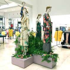 "ZARA, Duke of York Square, Chelsea, London, UK, ""Among the Greenery"", creative by Blacks Visual, pinned by Ton van der Veer"