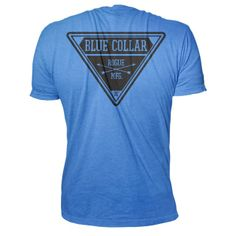 http://www.roguefitness.com/rogue-blue-collar-shirt.php?a_aid=4ff181ec18f98 #crossfit Rogue Blue Collar Shirt