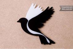Broche Pássaro - R$29.00