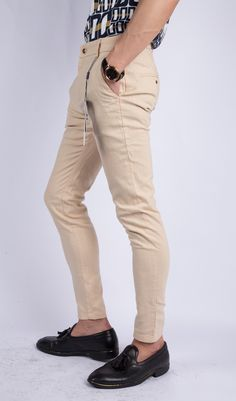 Khaki Men's Pants  Welcome to contact Michelle fro more information.  Skype: michellewu_1990 Whats App/ Tel: +86-13286889327