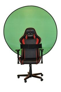The Webaround Chroma Key Green Screen Is Perfect For Those Looking To Take Their Video To The Next Level The Green Screen Is 56 Inches In Diameter And Gives Yo