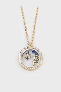 Nautical Memory Necklace ==
