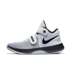 half off 20243 33837 Nike Air Precision II FlyEase Men's Basketball Shoe Size 11.5 (White)