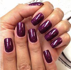 Khloe Kardashian Purple Nails | BEAUTY TWITPIC REPORT: Khloe K. in de make-up & Jacobs nagellak | I ...