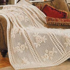 Crochet For Children: Flower Garden Afghan - Free Pattern