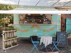Food truck do Decora (Foto: GNT). Marcelo Rosenbaum