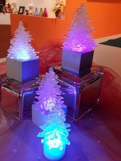 pinitos de luz con hotmelt