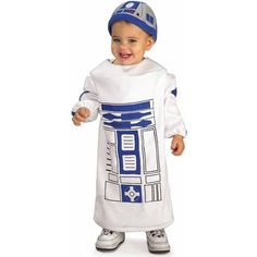 Star Wars R2D2 Toddler Halloween Costume