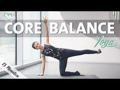 Yoga Core Balance | Gleichgewicht Vinyasa Flow Fortgeschritten - YouTube