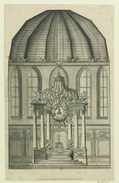 All sizes | Paris, église des Chartreux - élévation du maître-autel, 1709 | Flickr - Photo Sharing!