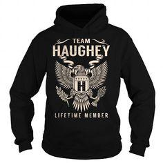 Cool Team HAUGHEY Lifetime Member - Last Name, Surname T-Shirt T shirts