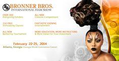 Bronner Bros. International Hair Show Mid Winter edition February 22-25, 2014 Atlanta Georgia.