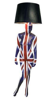 Union jack lamp