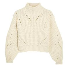 Cropped wool sweather by Isabel Marant