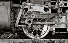 The beauty of old machinery by dogwatcher, via Flickr