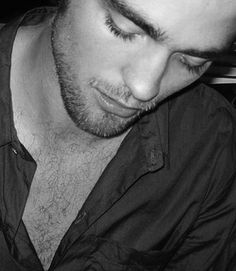 Best. Eyelashes. Ever. The chestporn and scruff aren't bad either.