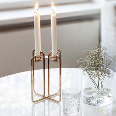 Elegance is the only beauty that never fades. Nordic Design, Scandinavian Design, Beautiful Gift Boxes, Helsinki, Interior Design Inspiration, Candelabra, Minimalist Design, Light Up, Home And Garden