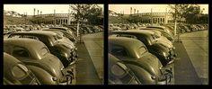 Vista do Pacaembú em 1953. Acervo pessoal de Martin Vanco. (fotografia estereoscopica)