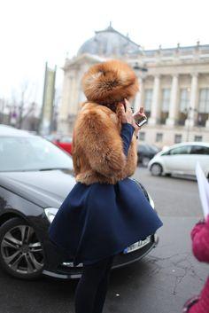 Couture Shows, Paris Fashion Week 2013 Fashion Mode, Fur Fashion, Fashion News, Fashion Outfits, Fashion Trends, City Fashion, Street Fashion, Street Style Chic, Fabulous Furs