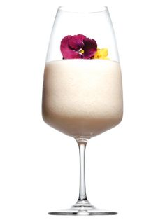 Cosmo's Sexiest Frozen Drinks: The Alama Colada (rum, passion fruit, and canned cream of coconut)