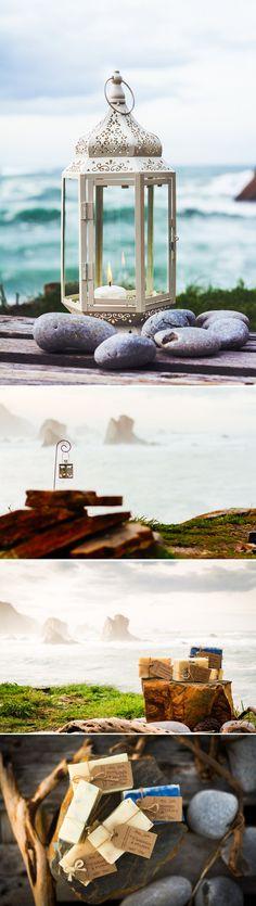 Inspiración para una boda en la playa. Fotos: La Mar Studio