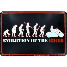 Evolution of the Biker Sign